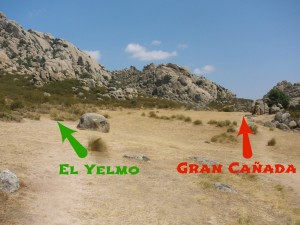 Indicaciones para subir el Yelmo